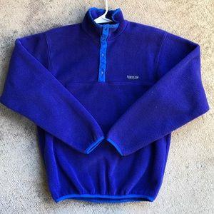 Patagonia Snap T Fleece Medium Purple Pullover